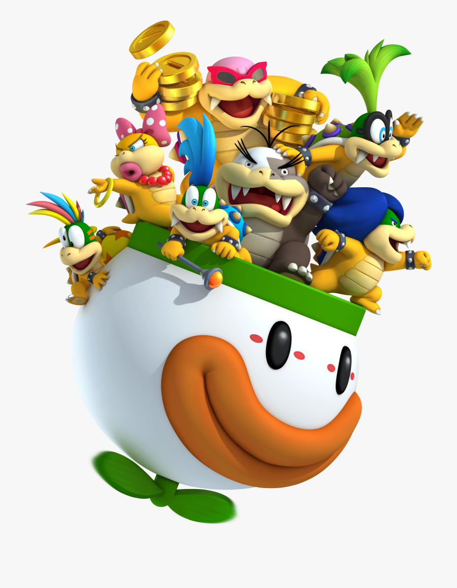 Super Mario Bros - Koopalings Smash Bros, Transparent Clipart