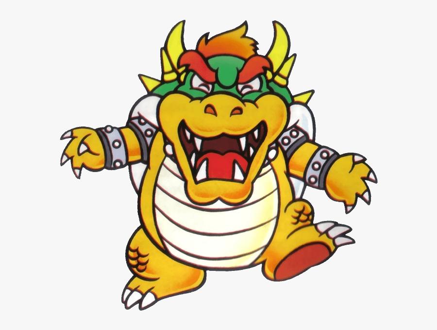 Super Mario Bros Bowser Artwork, Transparent Clipart