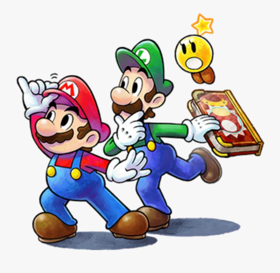 #mq #supermariobros #mario #luigi - Mario & Luigi: Paper Jam, Transparent Clipart
