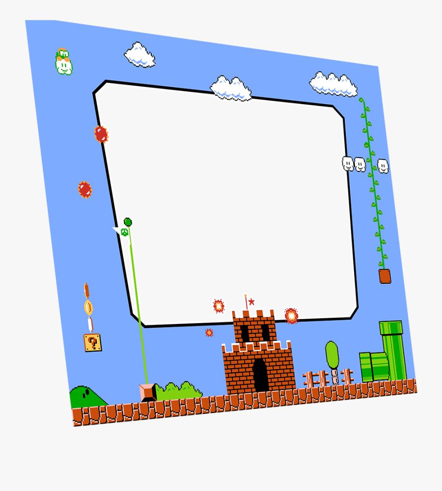 Super Mario Bros Bezel, Transparent Clipart