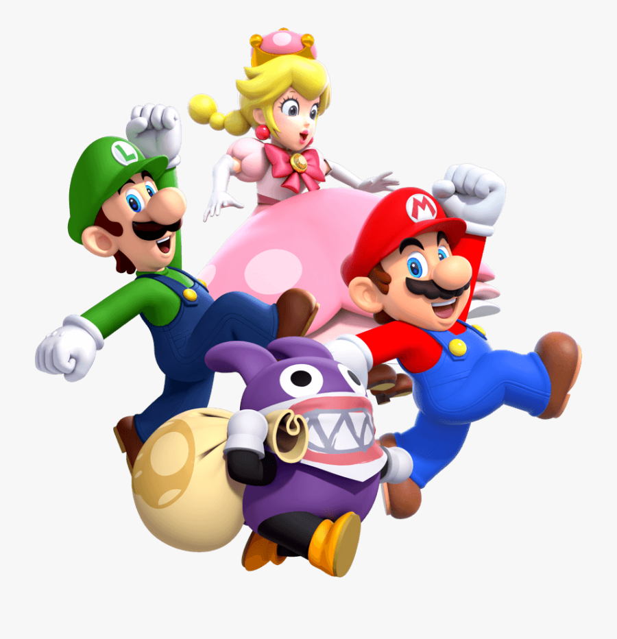 Transparent Mario Cloud Png - New Super Mario Bros U Png, Transparent Clipart