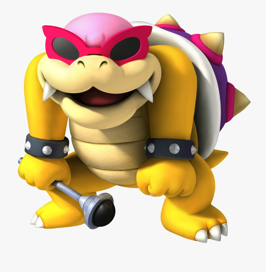 New Wii U Bully Koopalings 2 3 Roy Koopa Figure Bowser - Roy From Mario Kart, Transparent Clipart