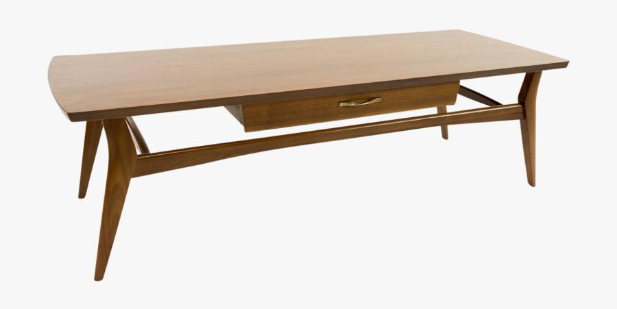 Mid Century Coffee Table Transparent Background - Mid Century Coffee Table, Transparent Clipart