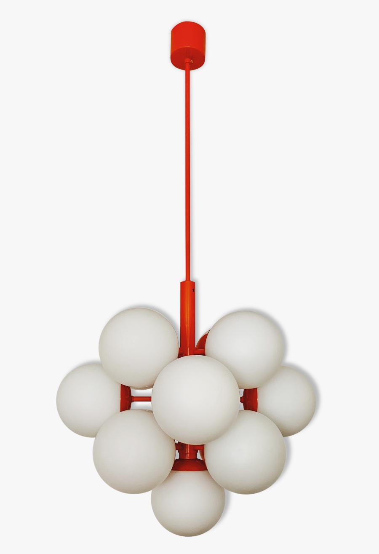 Amazing Mid Century Modern Sputnik Chandelier By Kaiser