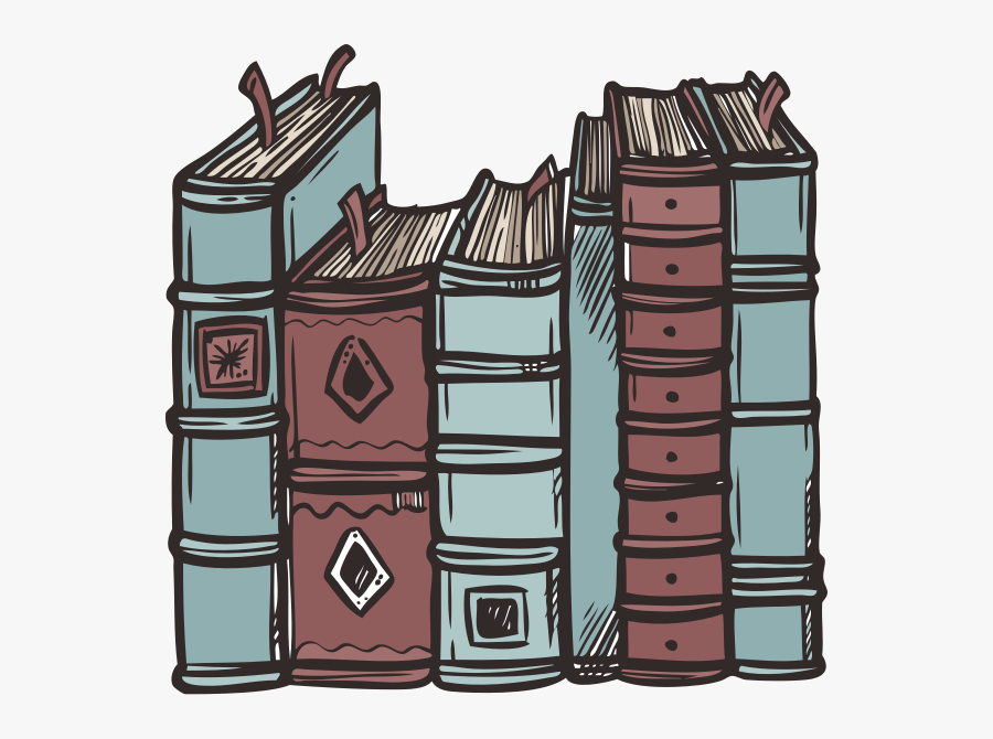 Book Spines Clipart