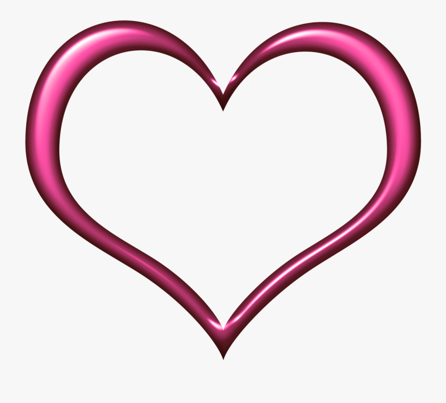 Cadre - Clipart - Coeur Cadre Png, Transparent Clipart