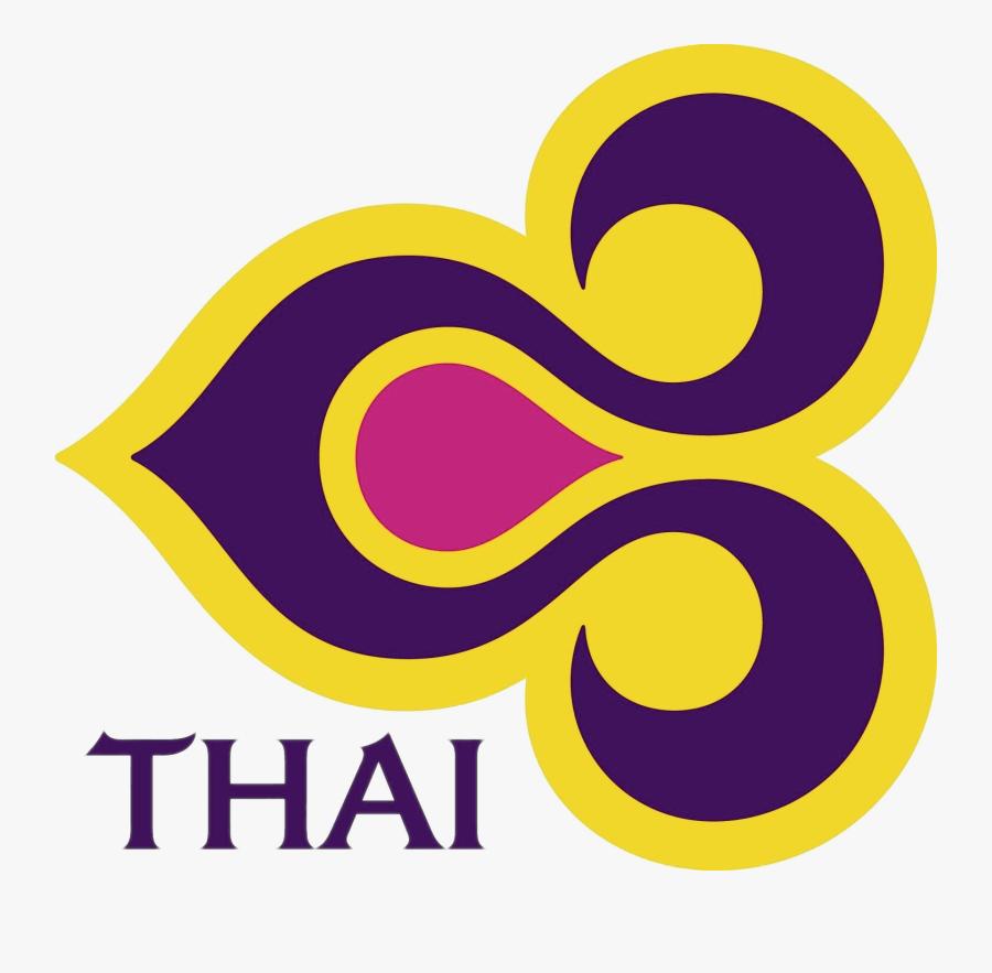 Thai Airlines Logo - Thai Airways Logo Vector, Transparent Clipart