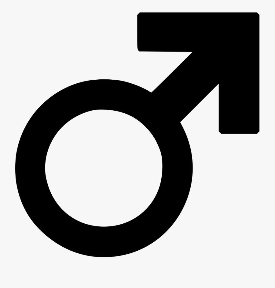 Male Symbol Png, Transparent Clipart