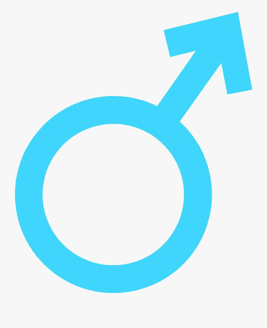 Male Sex Symbol Blue Clipart , Png Download - Sex Symbols For Male, Transparent Clipart