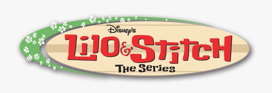 Lilo And Stitch Png - Lilo Y Stitch Serie Logo, Transparent Clipart