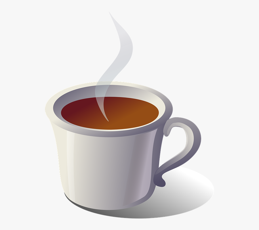 Vector Graphic Coffee Hot Drinking Tea - Coffee Hot Tea Clipart, Transparent Clipart