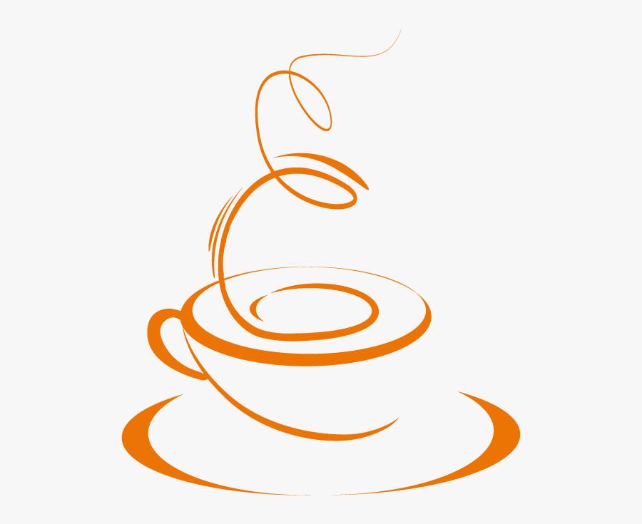 Vinilo Hot Coffee - Circle, Transparent Clipart