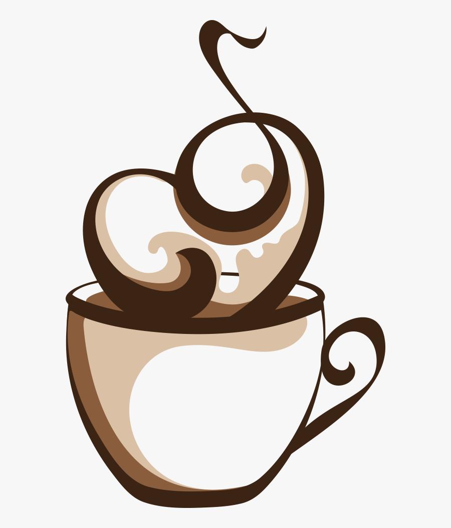 Coffee Cup Cafe Coffee Cup - Coffee Cup Png Vector, Transparent Clipart
