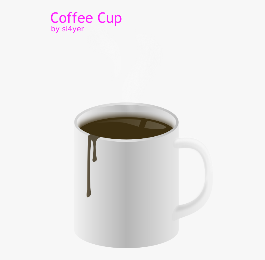 Clipart - Coffee Cup - Coffee Cup, Transparent Clipart