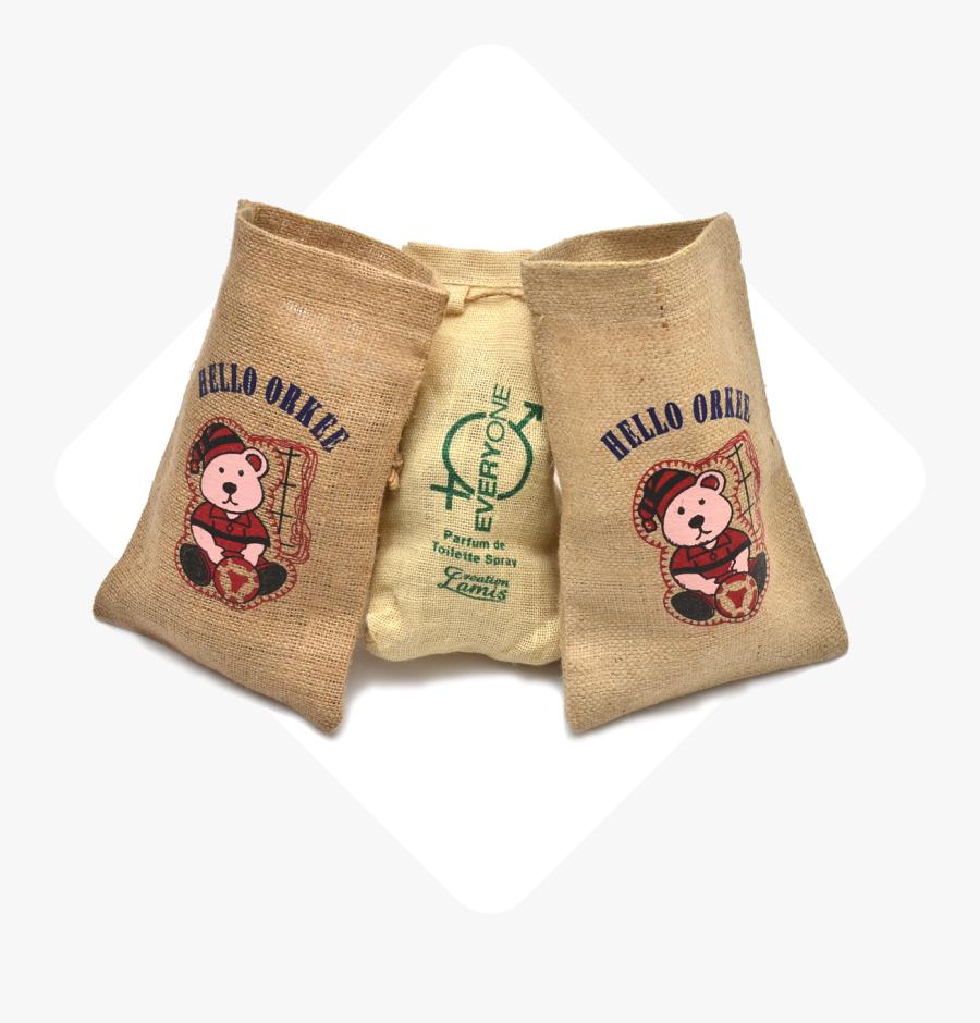 Promotional Textiles - Jute Bags - Sock, Transparent Clipart