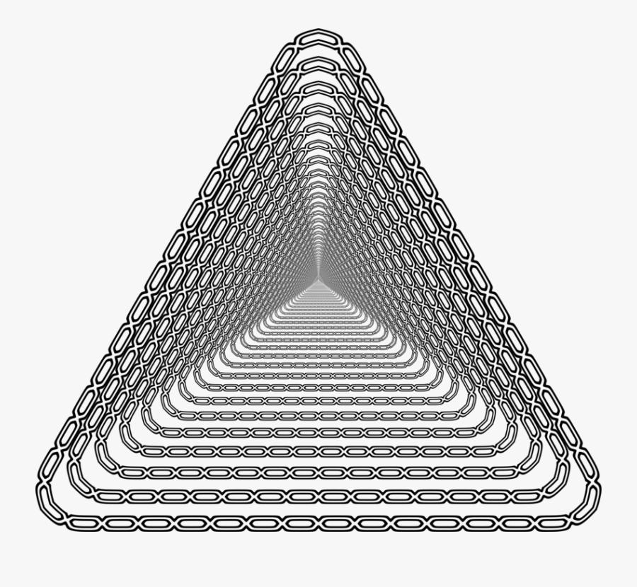 Line Art,triangle,symmetry - Triangle, Transparent Clipart