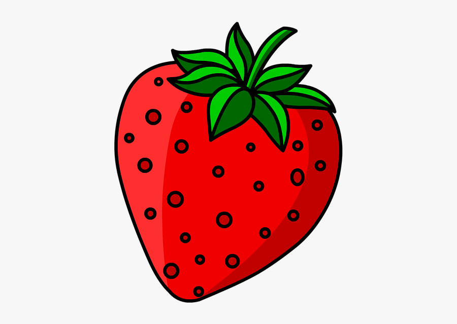 Strawberry Fruit Sweet Free Picture - Strawberry, Transparent Clipart