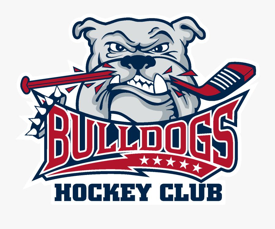 New England Bulldogs Hockey, Transparent Clipart