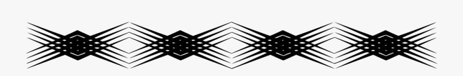 Pattern, Page, Border, Decorative, Geometric, Bracelet - Vertical Decorative Line Divider Png, Transparent Clipart