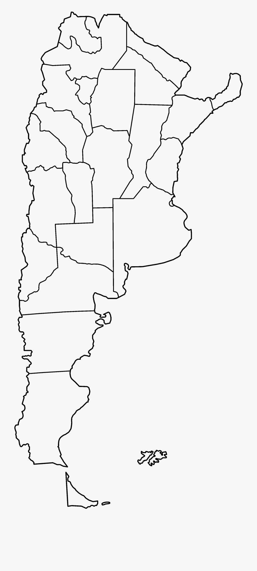 Outline Map Of Argentina Mapa Mudo De Argentina Free Transparent Clipart Clipartkey