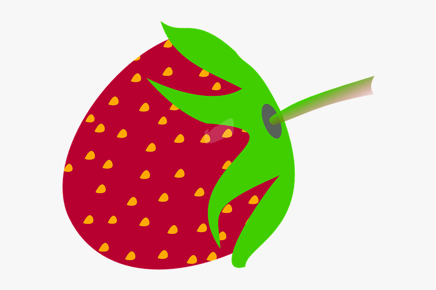 Strawberry Fruit Sweet Free Picture - Gambar Logo Buah Stroberi, Transparent Clipart