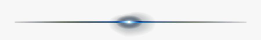 Centered Blue Lens Flare - Lens Flare Line Png, Transparent Clipart