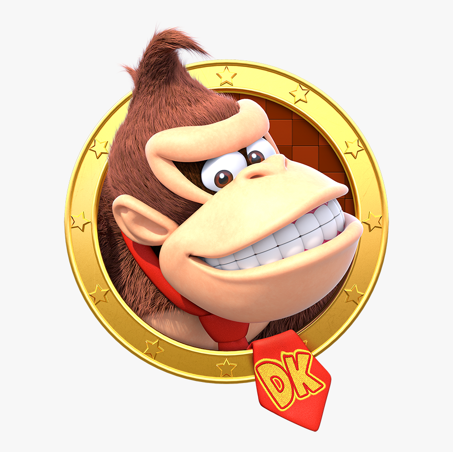 Transparent Donkey Kong Png - Mario Party Star Rush Characters, Transparent Clipart
