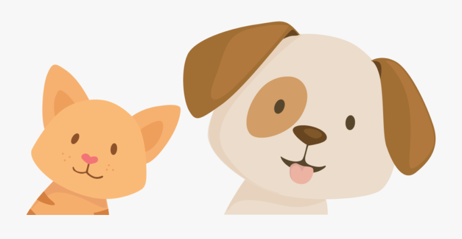 Every Partner Hospital Is Different, And So Are We - Cat And Dog Illustrations, Transparent Clipart