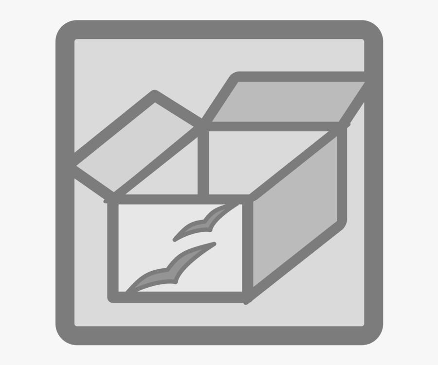Square,angle,text - Black Shoe Box Clipart, Transparent Clipart