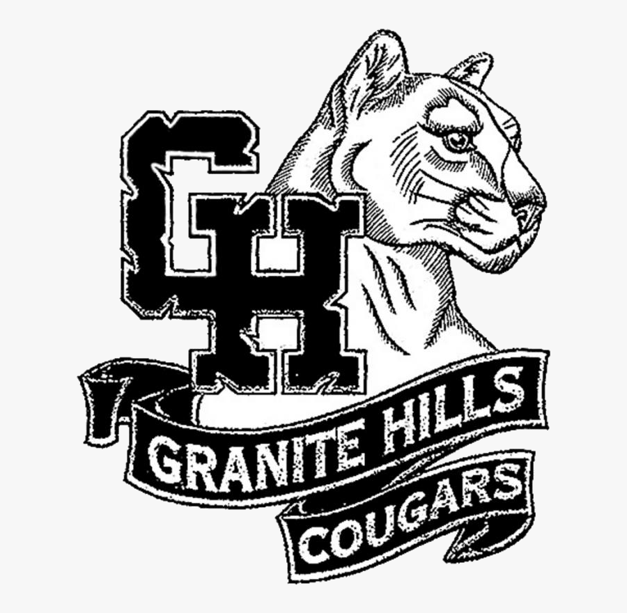 Granite Hills High School Apple Valley Logo, Transparent Clipart