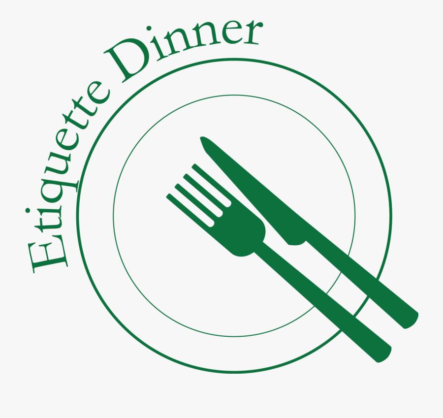 Etiquette Dinner 2018 - Dining Etiquette Png, Transparent Clipart