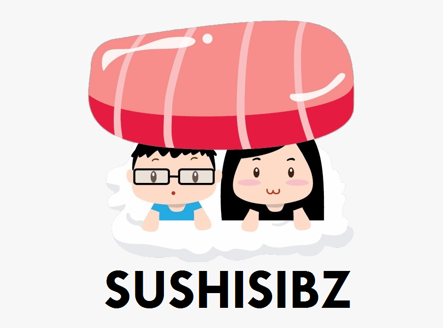 Sushi For Beginners Sushisibz - Cartoon, Transparent Clipart