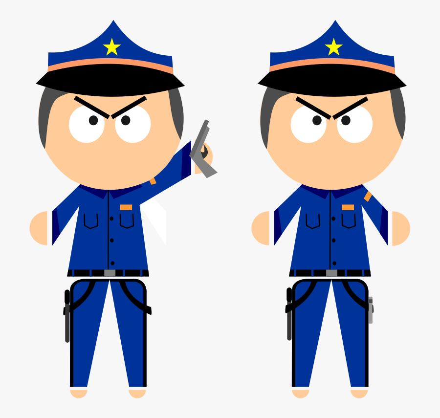Clip Art Policial Desenho Png - Desenho De Policial Em Png, Transparent Clipart