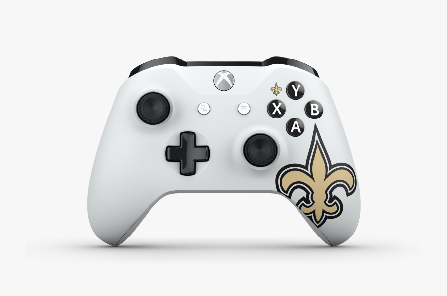 Hd Xbox Design Lab Nfl New Orleans - Xbox One S Controller Specs, Transparent Clipart