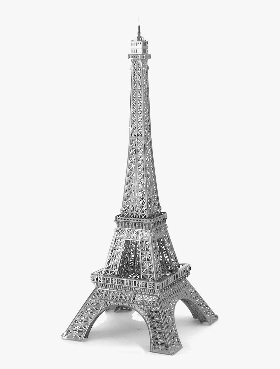 Clip Art Rompecabezas Met Lico Eiffel - Eiffel Tower 3d Png, Transparent Clipart