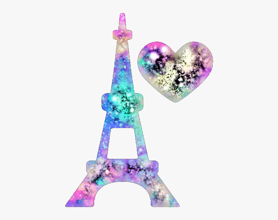 Eiffel Tower Sticker Created By Me - Heart, Transparent Clipart