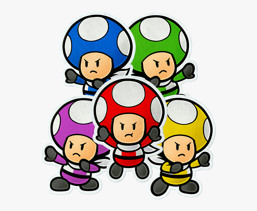 5 Paper Mario Characters That Are A Cut Above The Rest - Paper Mario Color Splash Characters, Transparent Clipart
