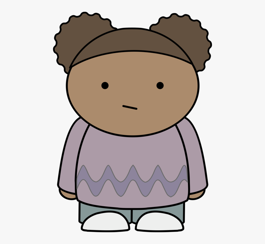 Doubtful Girl Karakter Komik Yang Mudah Digambar Free Transparent Clipart Clipartkey