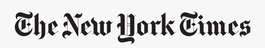 New York Times Label, Transparent Clipart