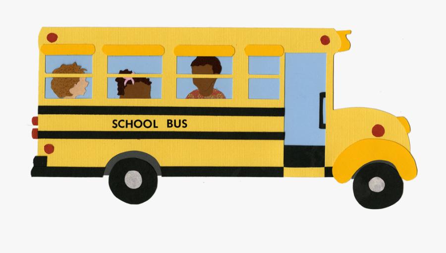 Illustrator Visits - School Bus, Transparent Clipart