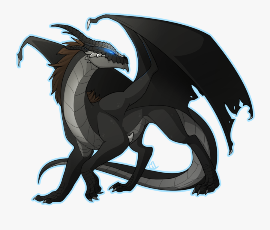 Clipart Dragon Dark Dragon Wings Of Fire Nightwing Clipart Free Transparent Clipart Clipartkey