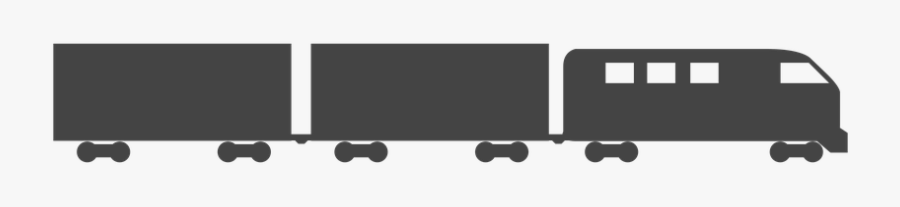 Railroad Car, Transparent Clipart