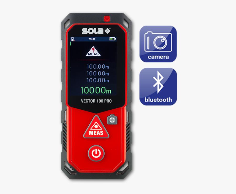 Sola Laser Range Finder Vector - Sola Vector 100 Pro, Transparent Clipart