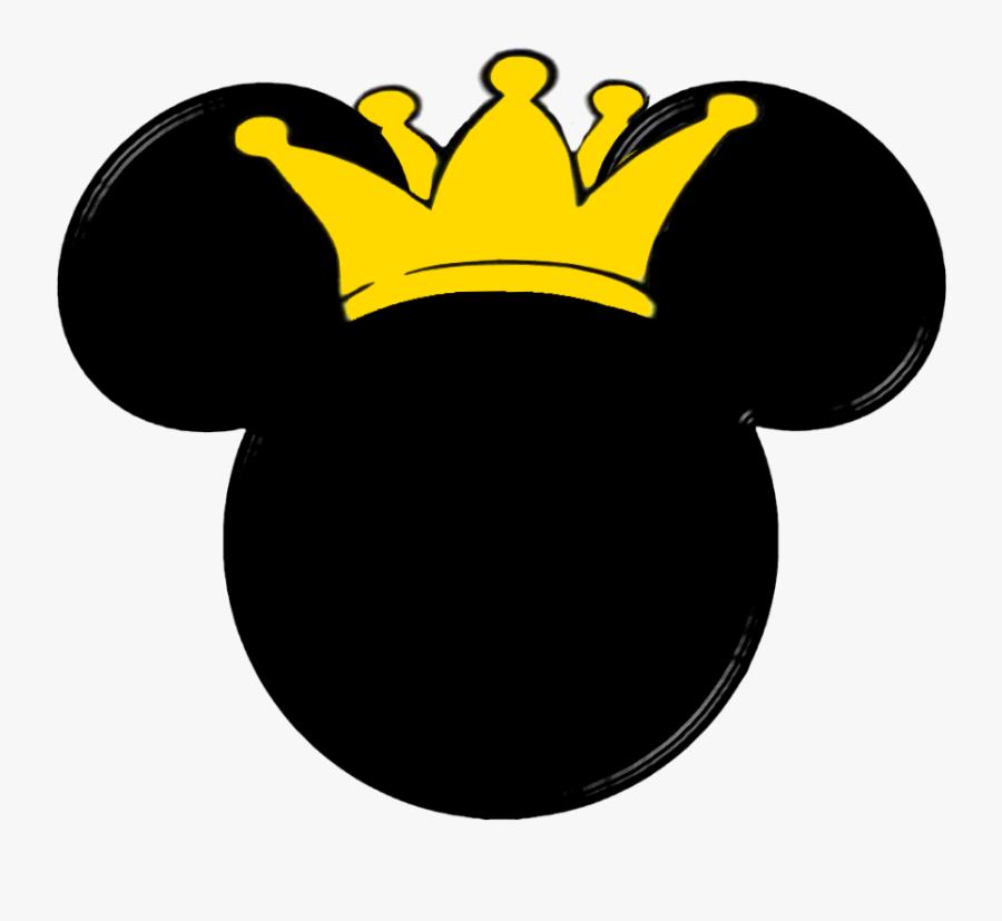 Disney Clipart Ear - Prince Mickey Mouse Head, Transparent Clipart
