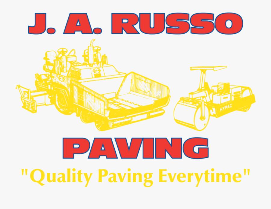 Russo Paving, Transparent Clipart