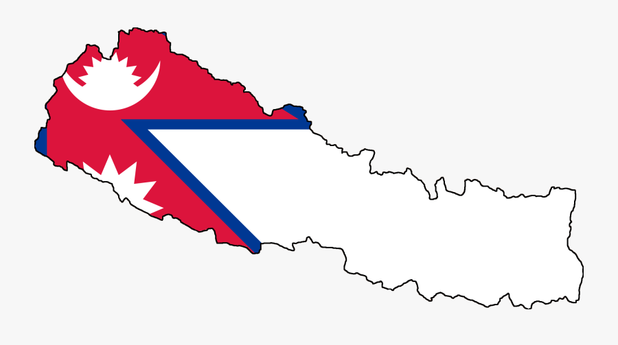 Flag Of Nepal April 2015 Nepal Earthquake National - Nepal Flag On Country, Transparent Clipart