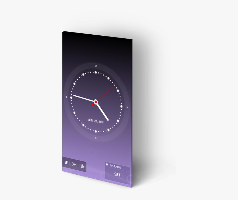 Soft Alarm Clock - Alarm Clock, Transparent Clipart