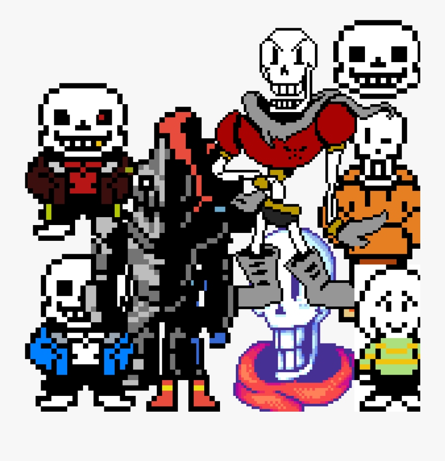 Spooky Scary Skeletons Sprite, Transparent Clipart