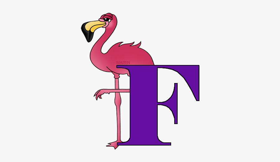 Letter F - Flightless Bird, Transparent Clipart