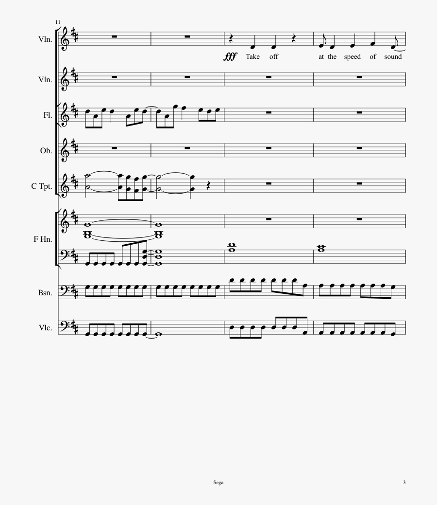 Stars Sheet Music 3 Of 53 Pages - Send My Love To Your New Lover Music Sheets Page 2, Transparent Clipart
